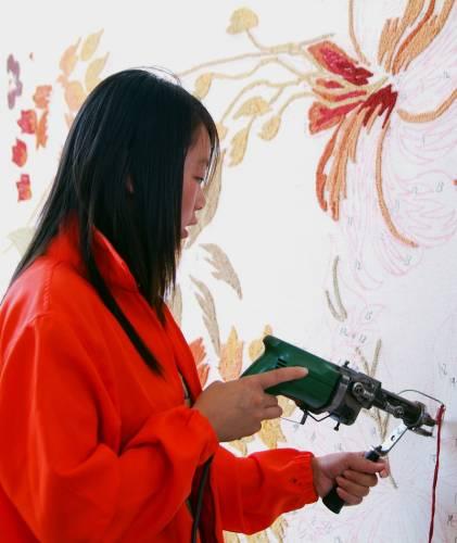 HandtuftTeppiche  Arbeitskreis Teppichwäscher